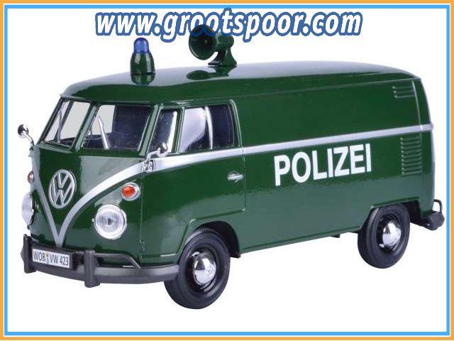 GSDCCmax 00079574 Volkswagen Type 2 (T1) Delivery van *Polizei*, green