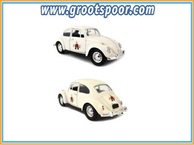 GSDCCmoc 000478966 Volkswagen classic Beetle, white *Coca Cola 100 years celebration*
