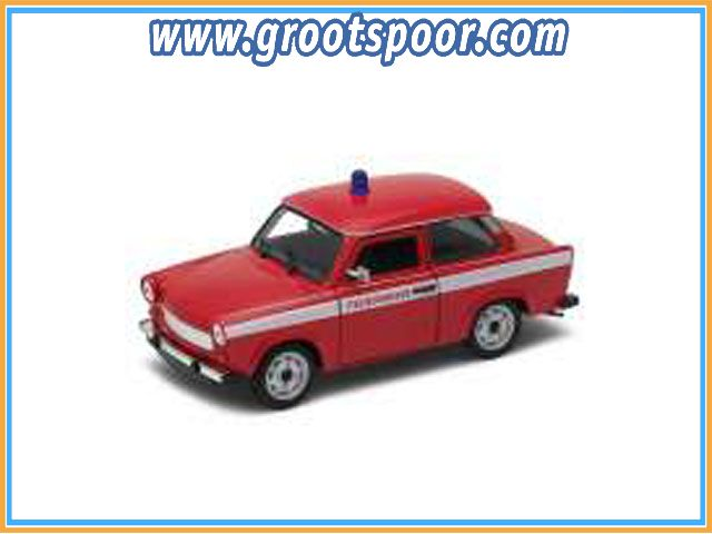 GSDCCwel 00024037gf Trabant 601 *Feuerwehr*, red/white