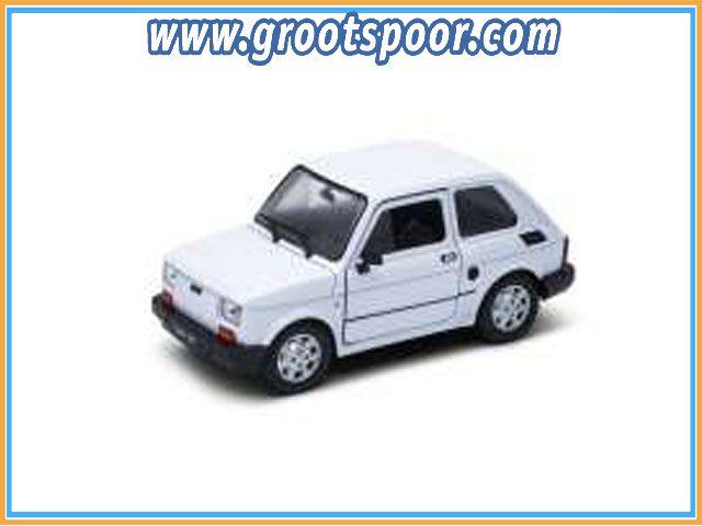 GSDCCwel 00024066w 1/24 Fiat 126, white