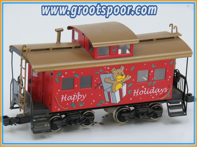 Marklin Maxi Spur1 Happy Holiday's Caboose