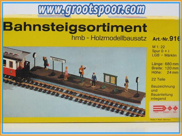 HMB 916 Bahnsteigsortiment