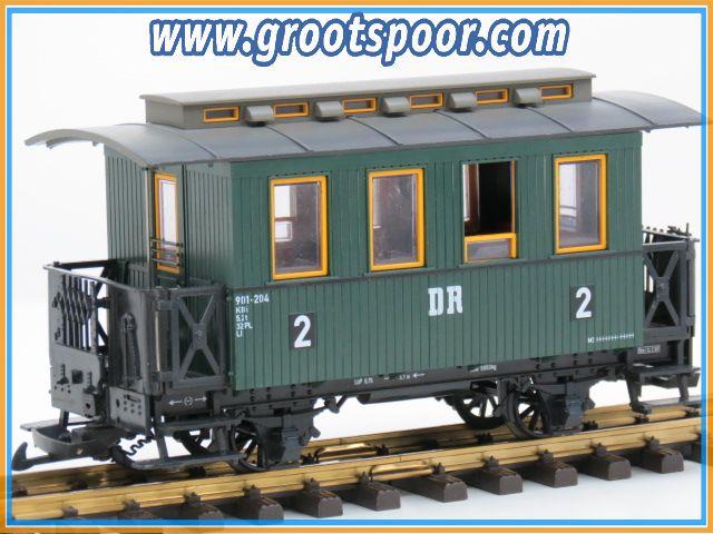 LGB 31065 Kbi 901-204 DR Personenrijtuig