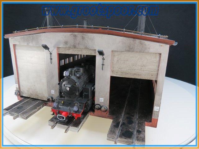 GSmm Locloods Wernigerode van de HSB Harzer Schmalspurbahnen