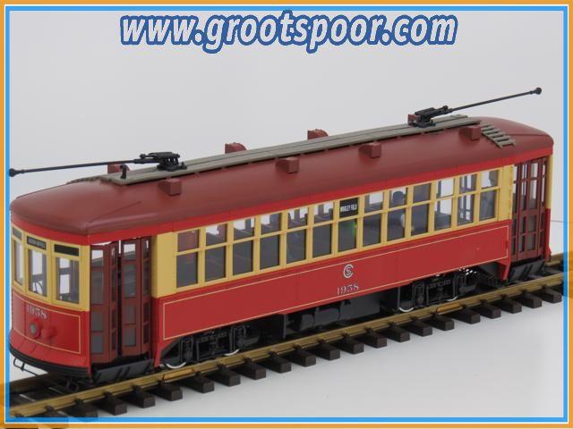 LGB 24380 Chicago Streetcar, Digital, Sound