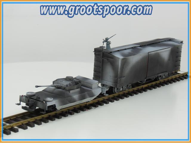 Bachmann/ USA Trains? #1 Army set Unique einzelstuck