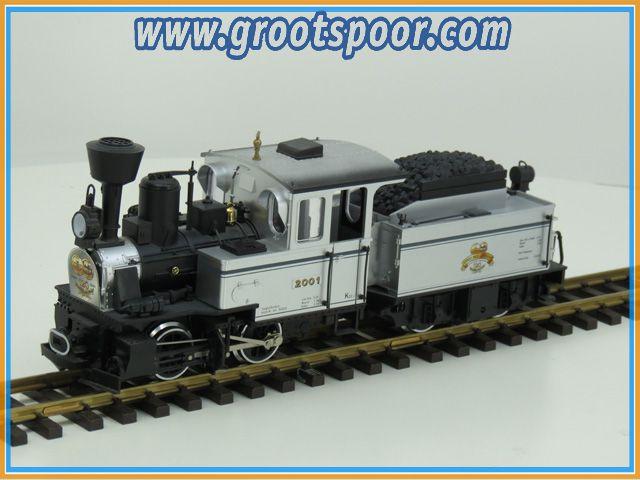 LGB 29151 stoomlok uit 120 Jahre set Limited edition