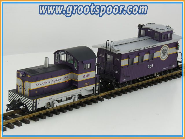 "USA TRAINS R22053+ R12015 ""MIGHTY MOE"" Atlantic Coast SET"