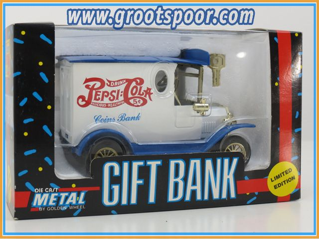 FORD 1:24 Die cast Metal Pepsi Cola