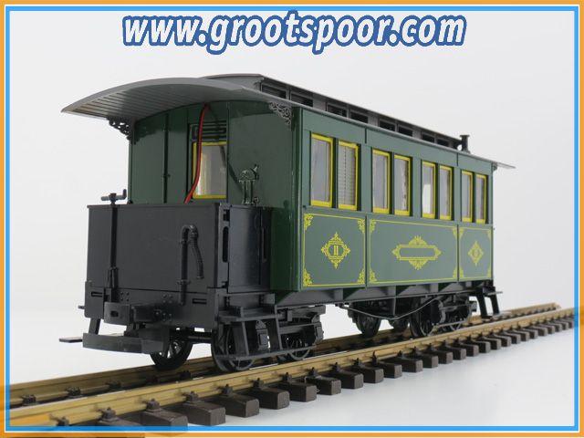 LGB 3060 Personenwagen Barmer bergbahn 2st Innerbeleuchtung