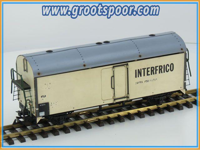 NS 4019 Interfrico koelwagen