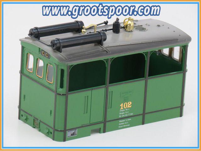LGB tram-kap OEG 102 met vensterglas (lgb 2050)