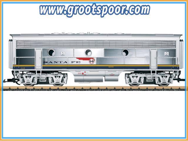 LGB 20587 Santa Fe Diesellok F7 B