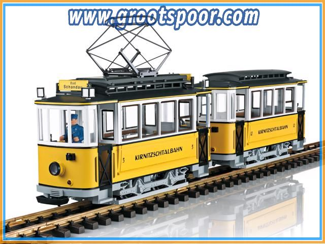 LGB 23363 Motorwagentrein Kirnitzschtalbahn