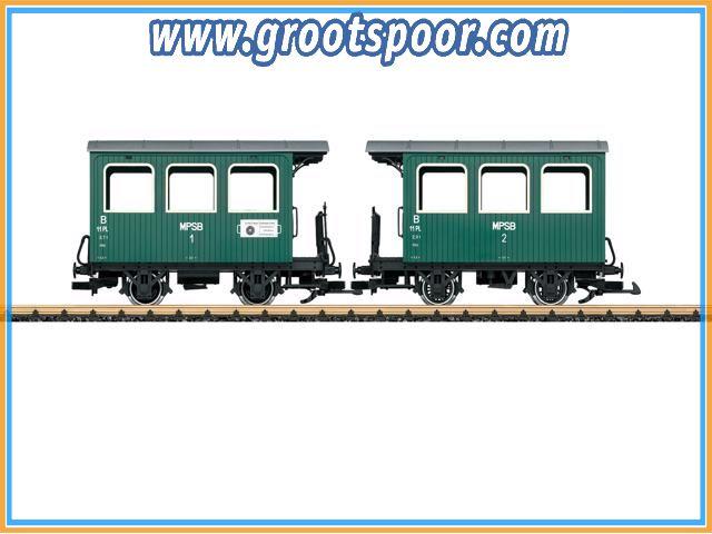 LGB 30402  Dubbele wagen MPSB