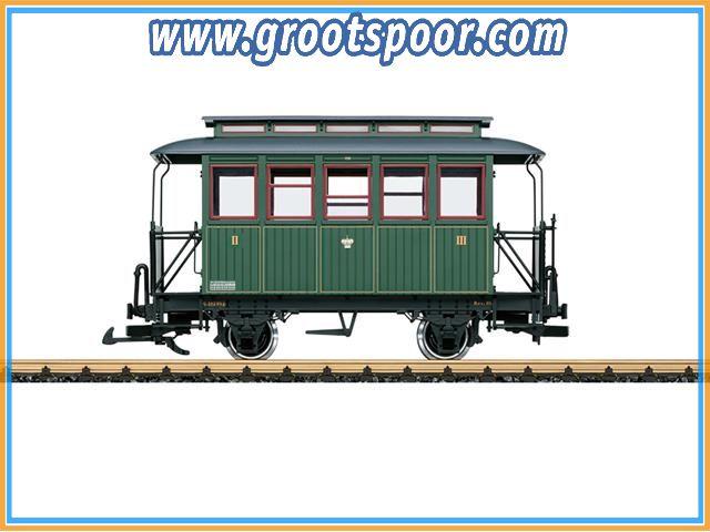 LGB 35096  Personenrijtuig 2e/3e klas S.St.E.