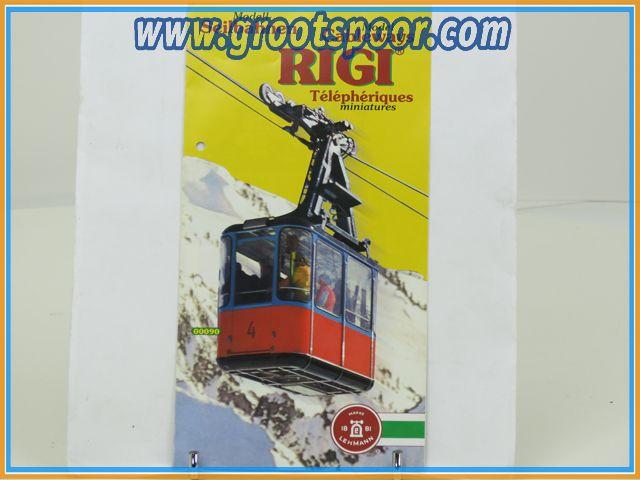 LGB - RIGI Modell-Seilbahnen info blad 1998