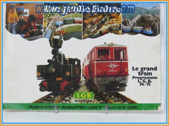 LGB Le Grand train programme LGB 74 / 75