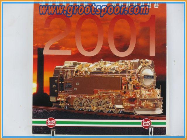 LGB Postkaarten Kalender 2001