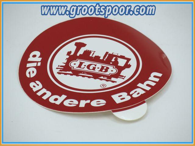 LGB Sticker, Aufkleber 8,5 cm die andere Bahn