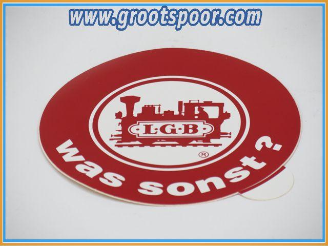 LGB Sticker, Aufkleber 8,5 cm was sonst ?