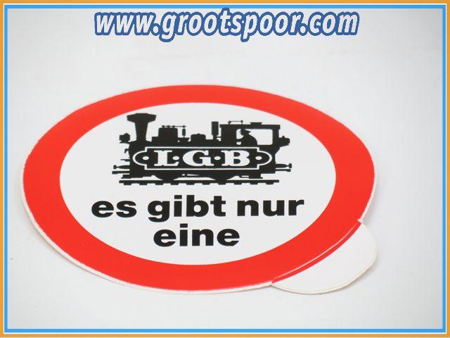 LGB Sticker, Aufkleber 8 cm es gibt nur eine