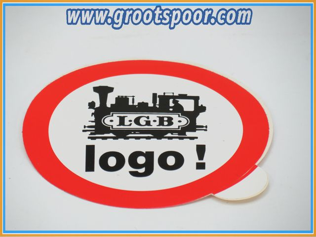 LGB Sticker, Aufkleber 8 cm Logo !