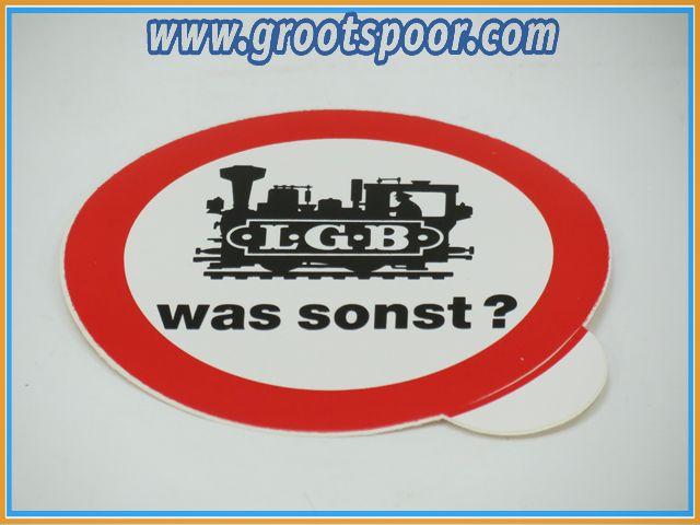 LGB Sticker, Aufkleber 8 cm Was sonst ?