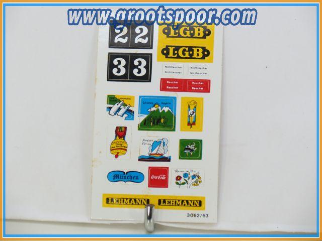 LGB Stickervel 024