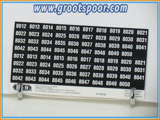 LGB Stickervel 027
