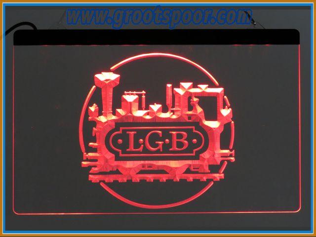 GSmm LGB Lichtbak, Thekenlampe, Logo 20 x 30 cm