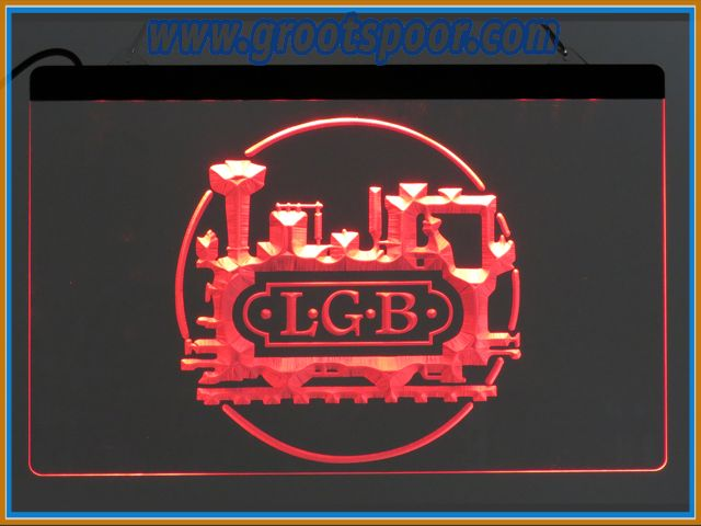 GSmm LGB Lichtbak, Thekenlampe, Logo 30 x 40 cm