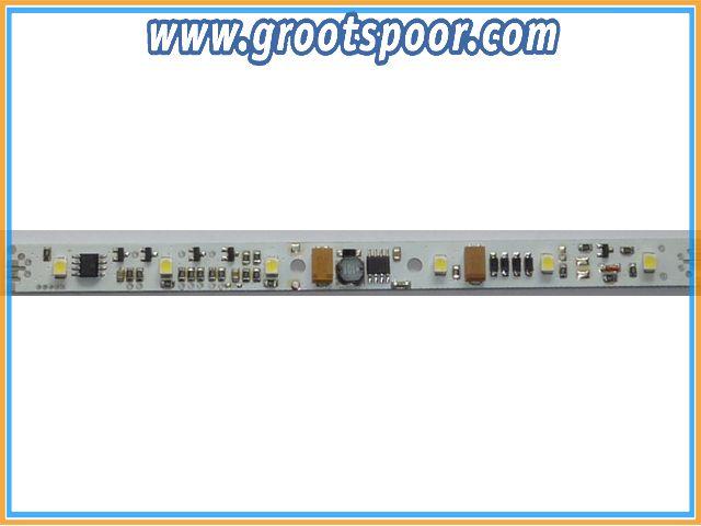 DIETZ D-LL-DCC-NL Waggonbeleuchtung 150x10mm Ausführung DCC mit Schaltausgängen, Schraubklemmen
