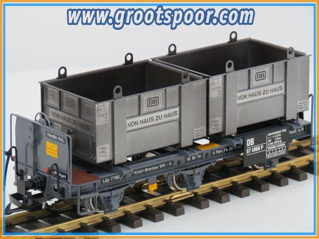 Magnus 57 4960 Spezial wagen mit Haus zu Haus Containers