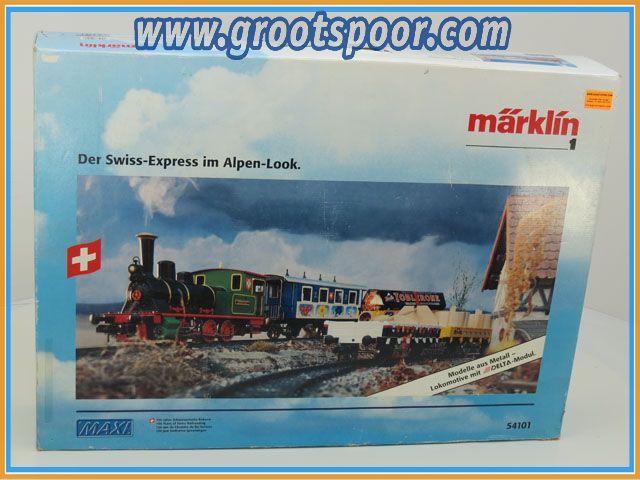 Marklin Maxi Spur1 54101 Schweizer Zugpackung Edelweiss
