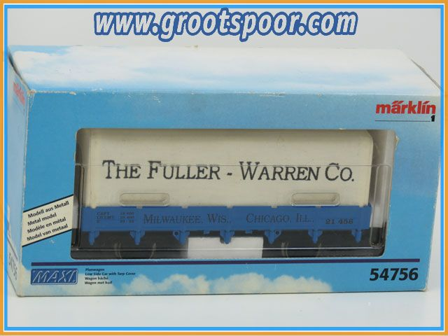 Marklin Maxi Spur1 54756 Planwagen The Fuller-Warren Co