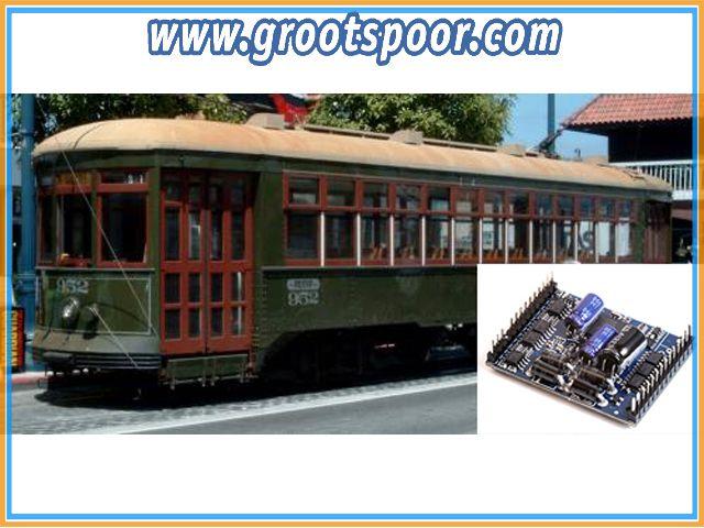 MASSOTH 8235038 eMOTION XLS-M1 US Straßenbahn