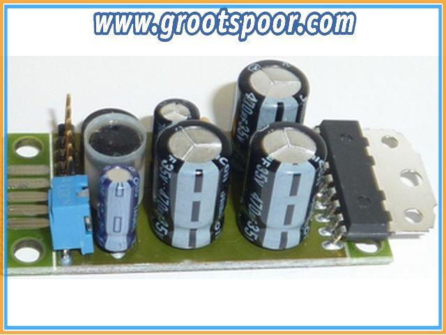 DIETZ D-NFV06 NF Verstärker max. 14 Watt zum Anschluss an DIETZ-Soundmodule