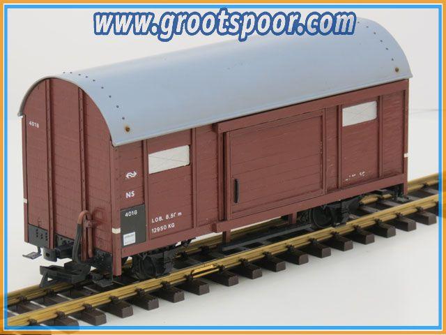 NS 4018 Gesloten goederenwagen