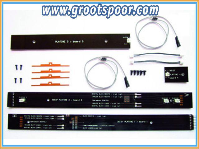 PIKO 36138 G-Innenbeleuchtung für Reko Speise/Gepäckwagen