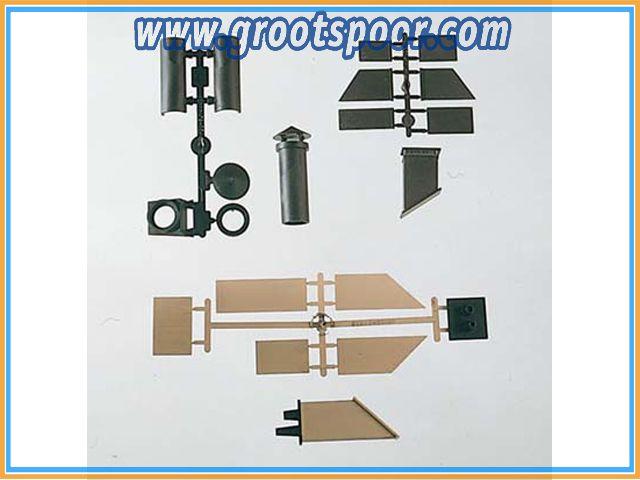 PIKO 62812 G-Bauteile: Sort. Kamine