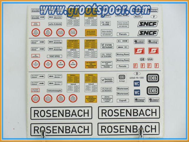 Piko Stickervel 093 Rosenbach