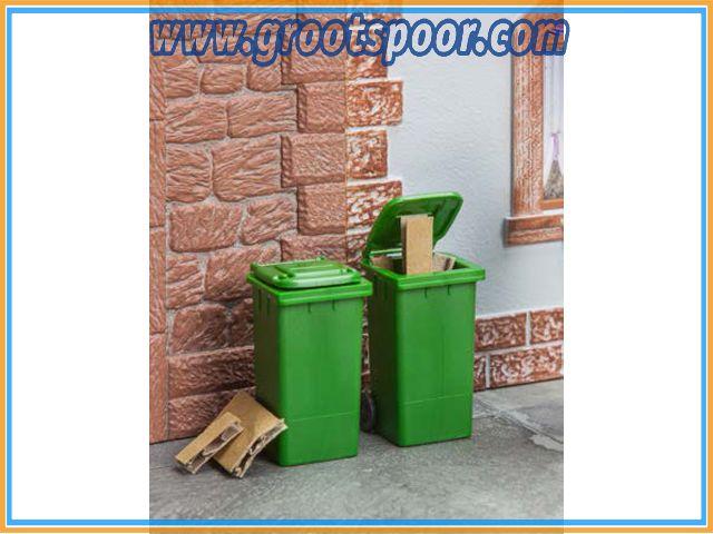 POLA 333224 2 Mülltonnen, grün