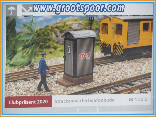LGB/Pola Clubpräsent 2020 Streckenwärtertelefonbude