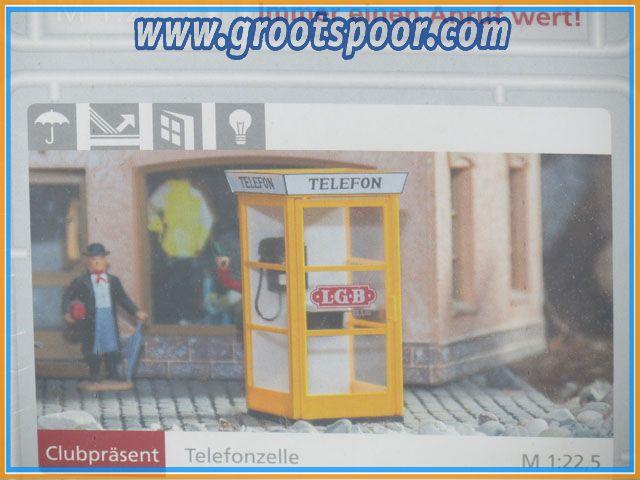 LGB / Pola Clubpräsent Telefonzelle