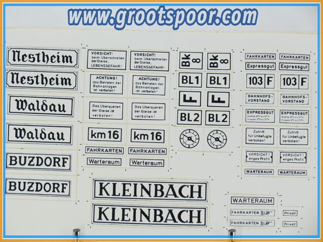 Pola Stickervel 057 Nestheim Waldau Kleinbach