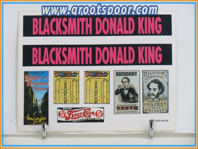 Pola Stickervel 092 Blacksmith Donald King 331813