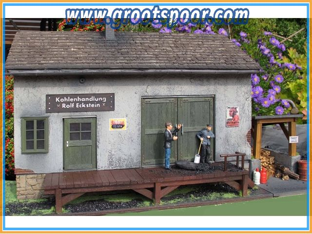 Prehm-Miniaturen 560000 Kohlehandlung - Reliefhaus als Fertigmodell