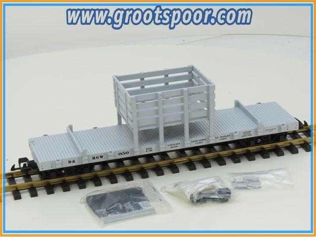 USA Trains R1812 D&RGW Rail & Tie Car 050