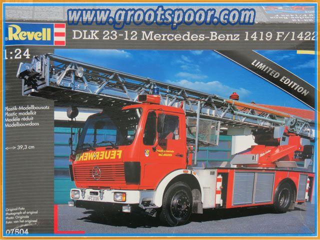 Revel 07504 DLK 23-12 Mercedes-Benz 1419 F /1422 F